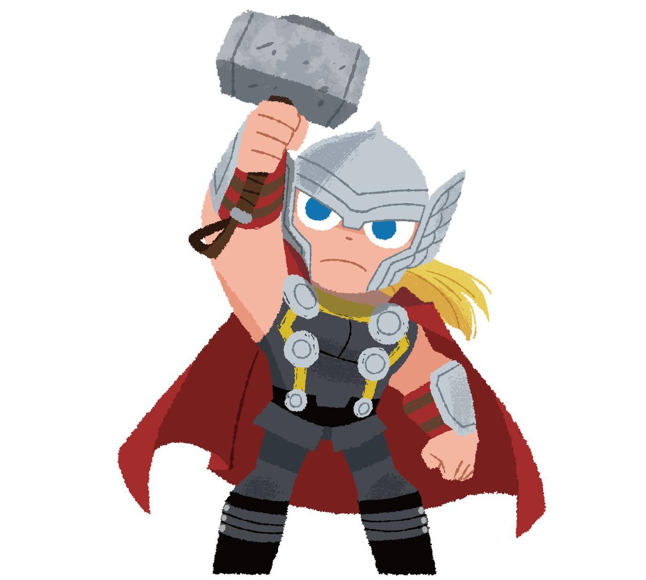 画像 マーベル・キャラクターの中でも最強のペア、ソーとロキ。ソー