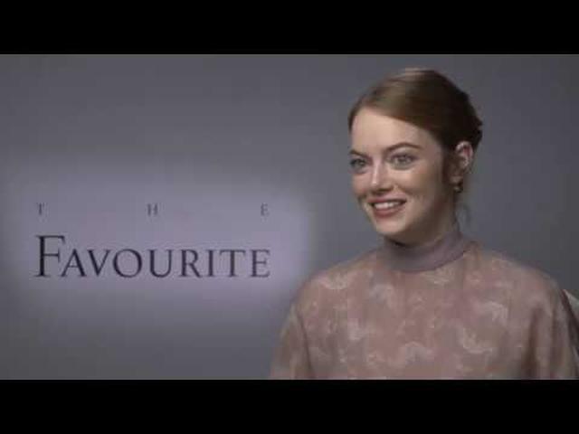 画像: 「女王陛下のお気に入り」エマ・ストーン インタビュー www.youtube.com