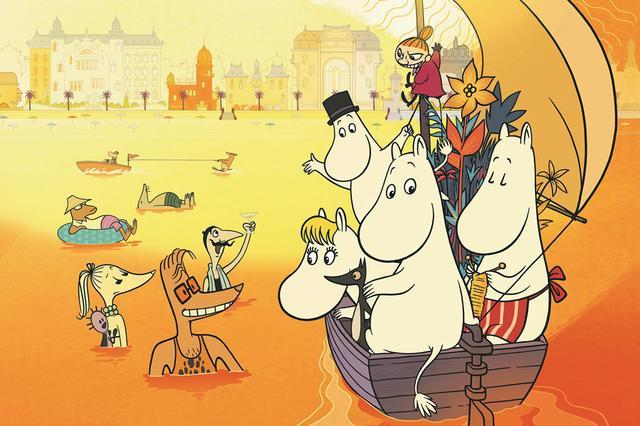 画像: セレブが集うリゾート地で、ムーミンたちが大騒動を巻き起こす!?
