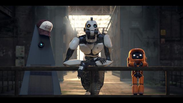 画像: アニメシリーズ「ラブ、デス&ロボット」の「ロボット・トリオ」