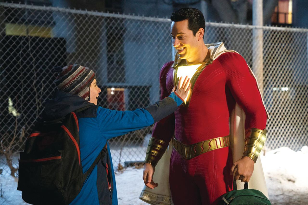 画像: 悪ノリ全開なヒーローの活躍をユーモラスに描く異色ヒーロー映画「シャザム!」