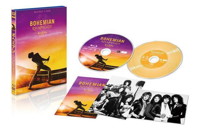画像: ボヘミアン・ラプソディ 2枚組ブルーレイ&DVD ¥4,700+税(初回生産分オリジナル特典付)