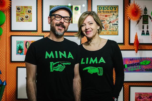 画像: 「ミナリマ」のお二人。左からエドゥアルド・リマとミラフォラ・ミナ