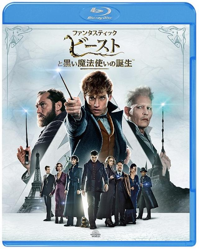 画像: ブルーレイ&DVDセット(2枚組/日本限定メイキングブックレット付)¥3,990+税 WIZARDING WORLD and all related characters andelements are trademarks of and © Warner Bros. Entertainment Inc. WizardingWorld™ Publishing Rights © J.K. Rowling. © 2018 Warner Bros. Entertainment Inc.All rights reserved.
