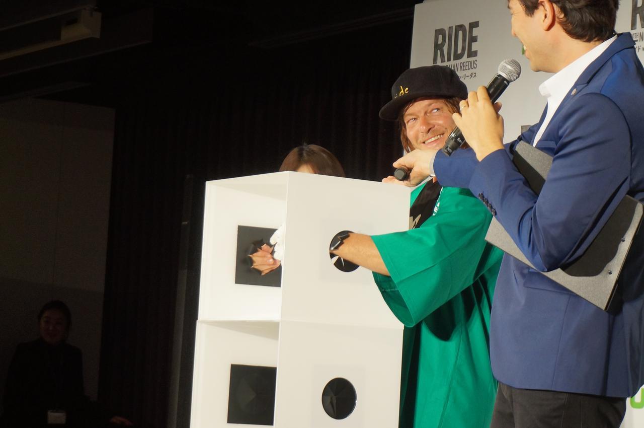 画像14: 「ライド with ノーマン・リーダス」シーズン2配信記念で 来日したノーマン・リーダスがファンミーティングに登壇!!