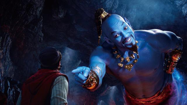 画像: 魔法のランプをこすると登場する魔人ジーニー役にウィル・スミス