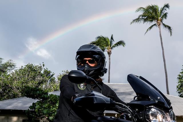 画像4: バイクに乗ってる時は自由を感じられる