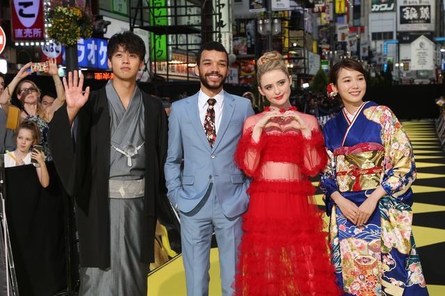 画像: 日米の未来を背負う貴重な4ショット!