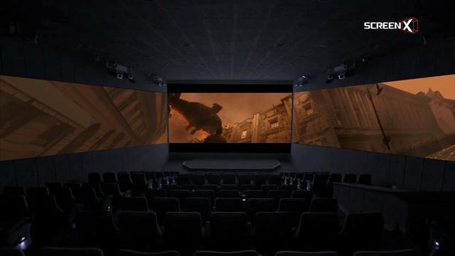 画像2: 史上最多のScreenXシーンで、正面スクリーンに閉じ込められていたゴジラが覚醒