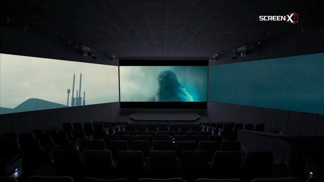 画像1: 史上最多のScreenXシーンで、正面スクリーンに閉じ込められていたゴジラが覚醒