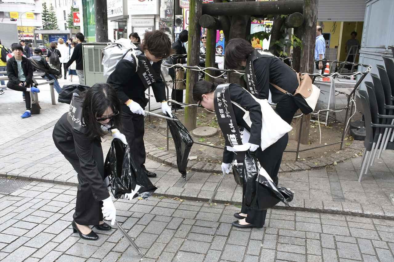 画像3: 5月18日が「MIB」の日に決まった理由は?「MIB」イベント開催で吉本坂46が新宿でミッションに挑戦!