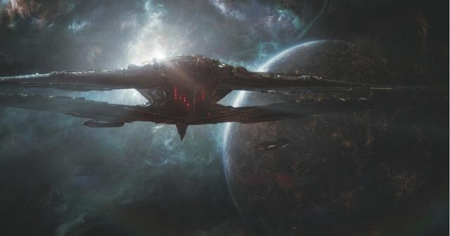画像: ミッションのため宇宙を行くアベンジャーズ
