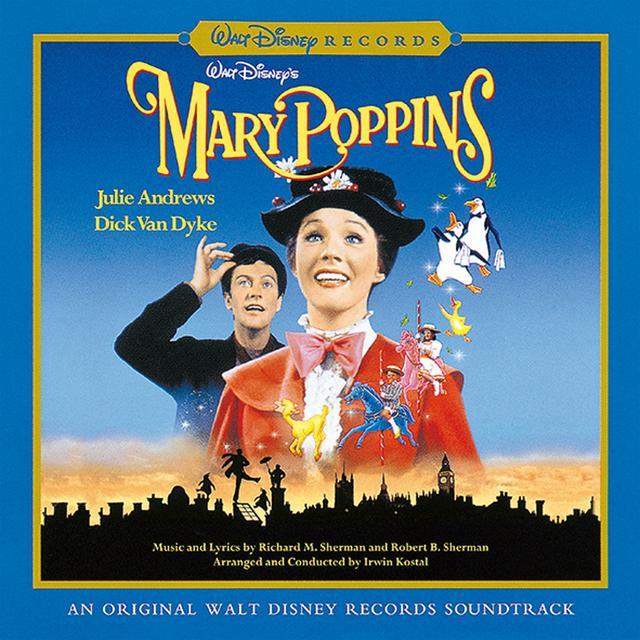画像: メリー・ポピンズ オリジナル・サウンドトラック デジタル・リマスター盤(UWCD-8087)