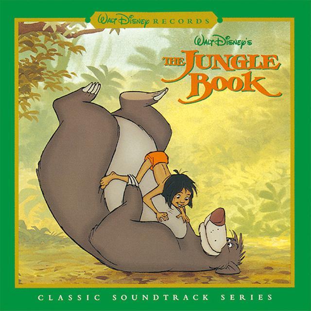 画像: ジャングル・ブックオリジナル・サウンドトラックデジタル・リマスター盤(UWCD-8010)