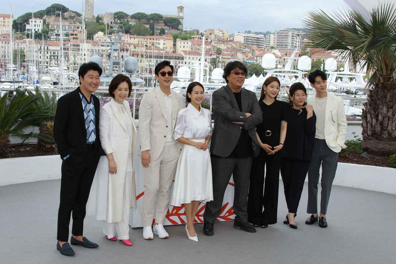 画像: カンヌ国際映画祭にはポン・ジュノ監督はじめキャスト陣も集結