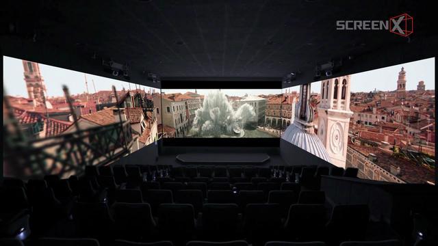 画像: 視界270度のパノラマスクリーンでスパイダーマンの活躍が堪能できる鑑賞ポイント
