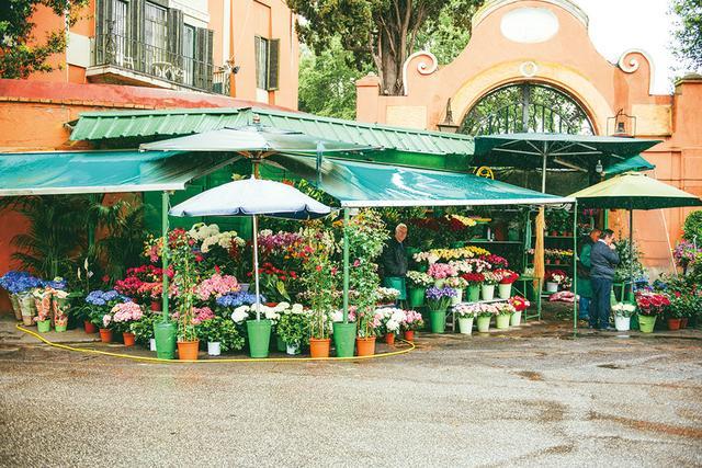 画像: オードリーが通った花屋Antonio ai Monti Parioli