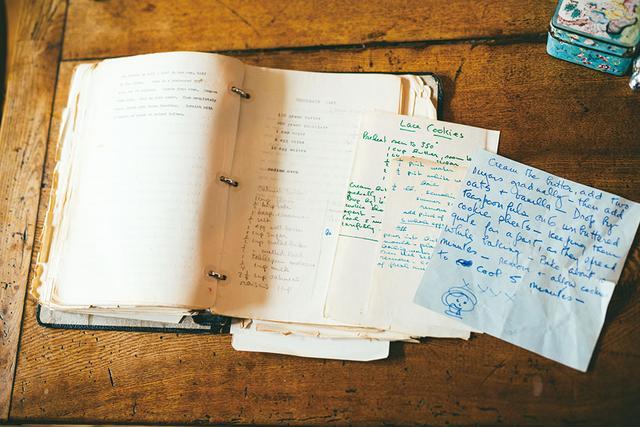 画像: オードリー直筆のレシピ。イラストもカワイイ