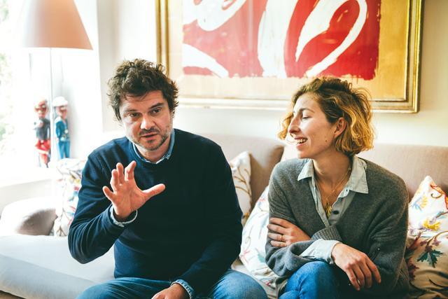 画像: 迎えてくれたルカと夫人のドナティッラ