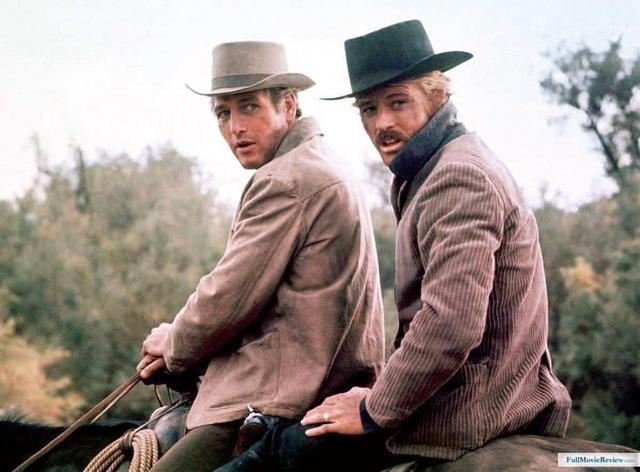 画像: ポール・ニューマンと組んで大成功を収めた「明日に向って撃て!」