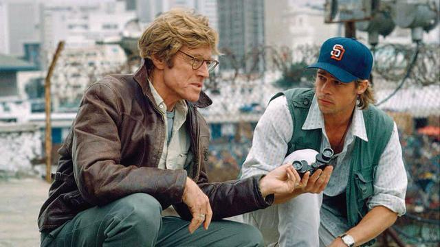 画像: ブラッドと俳優として共演した「スパイ・ゲーム」