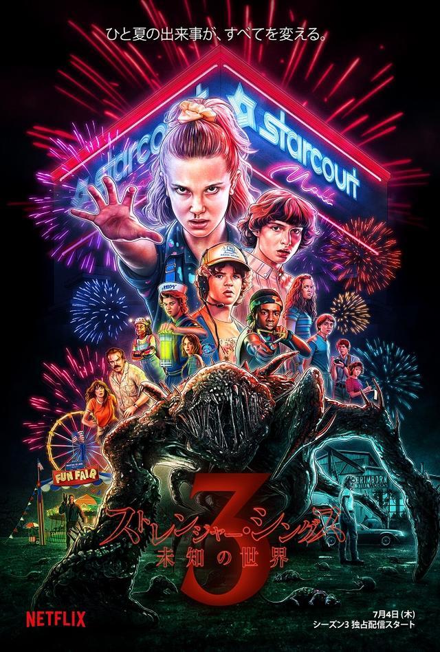 画像: Netflixオリジナルシリーズ「ストレンジャー・シングス 未知の世界 3」配信開始!4日間で過去最大4000万世帯超が視聴!