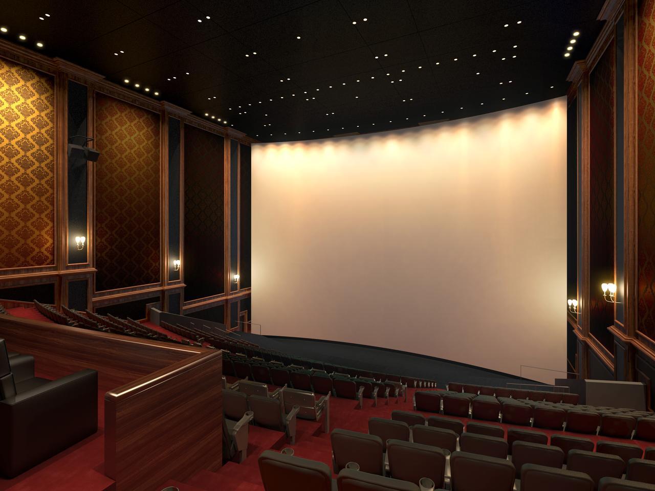 画像: IMAX®レーザー/GTテクノロジー