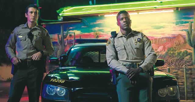 画像: マーティンはLAのパトロール警官