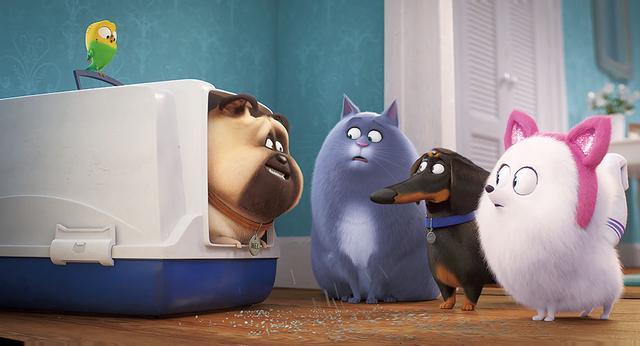 """画像3: お行儀よく留守番できない""""彼ら""""再来!「ペット2」ココに注目!"""