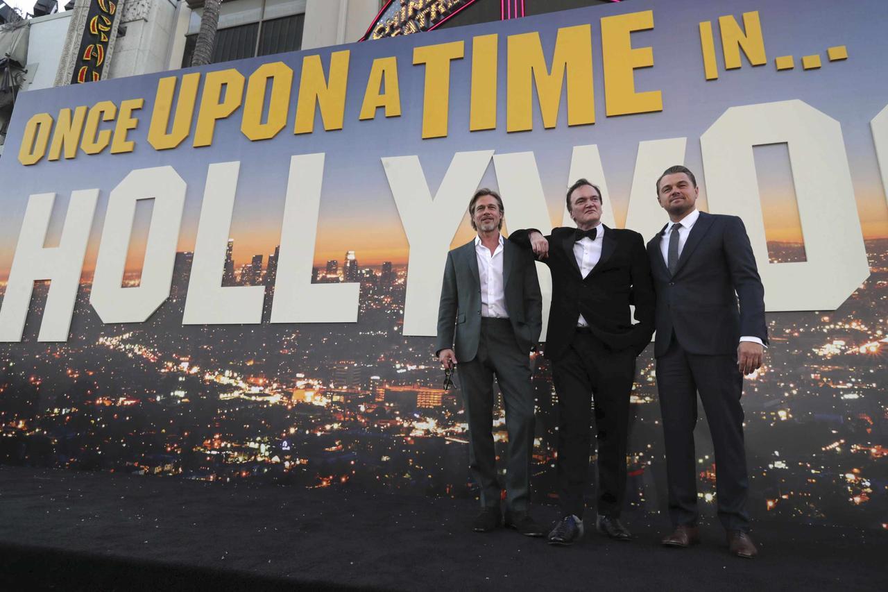 画像: レオナルド・ディカプリオ、ブラッド・ピットもそろって登場
