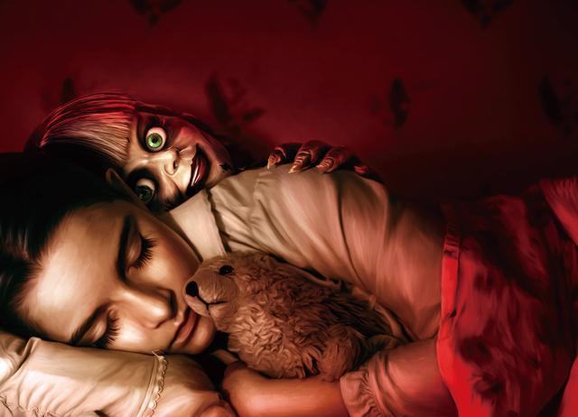 画像: 解き放たれた呪いの人形の恐怖が少女に襲い掛かる!