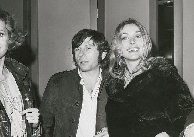 画像: 結婚当時のポランスキー監督とシャロン