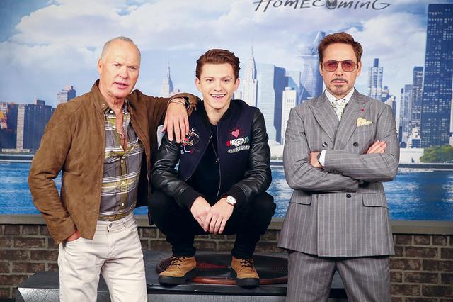 画像: ニューヨークで行なわれた「スパイダーマン:ホームカミング」イベントにて