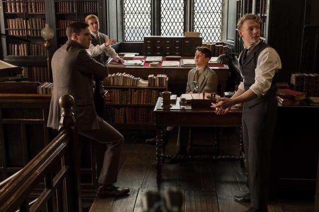 画像: 今英国で最も注目される若手俳優たち4人が共演