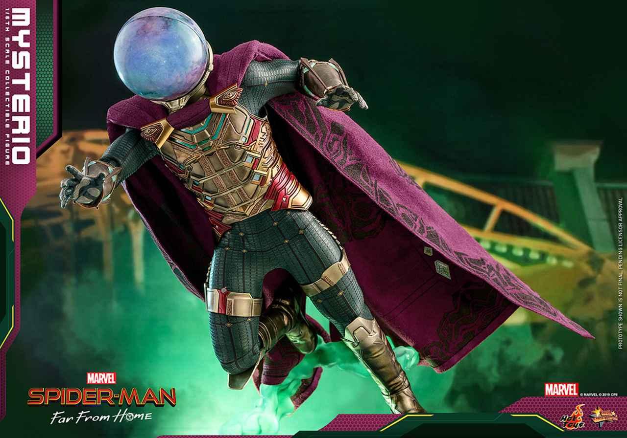 Images : 2番目の画像 - 「ホットトイズより「スパイダーマン:ファー・フロム・ホーム」ミステリオのハイエンドな1/6スケールフィギュアが!」のアルバム - SCREEN ONLINE(スクリーンオンライン)