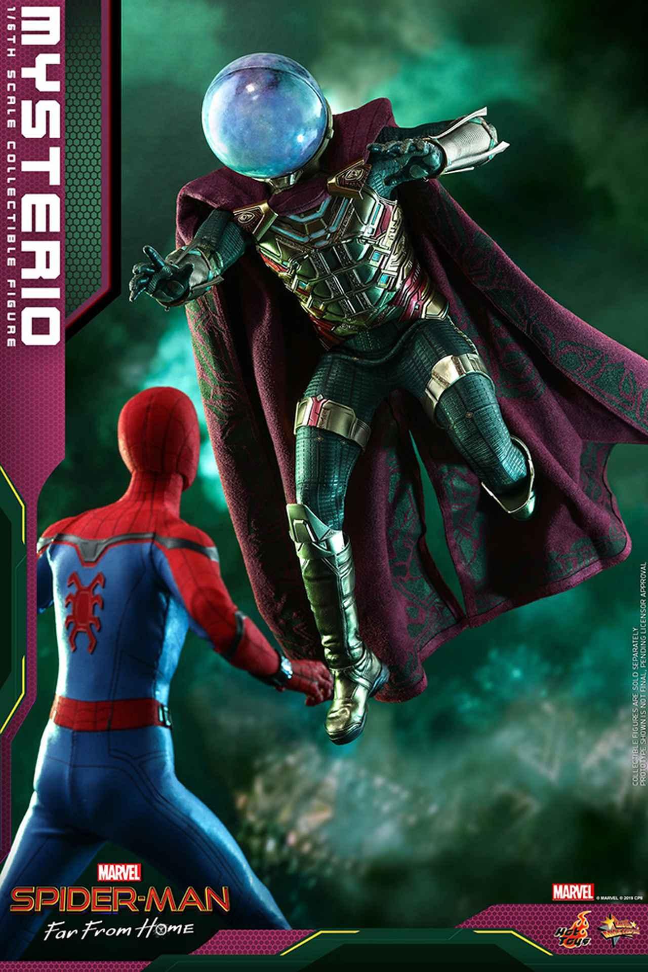 Images : 4番目の画像 - 「ホットトイズより「スパイダーマン:ファー・フロム・ホーム」ミステリオのハイエンドな1/6スケールフィギュアが!」のアルバム - SCREEN ONLINE(スクリーンオンライン)