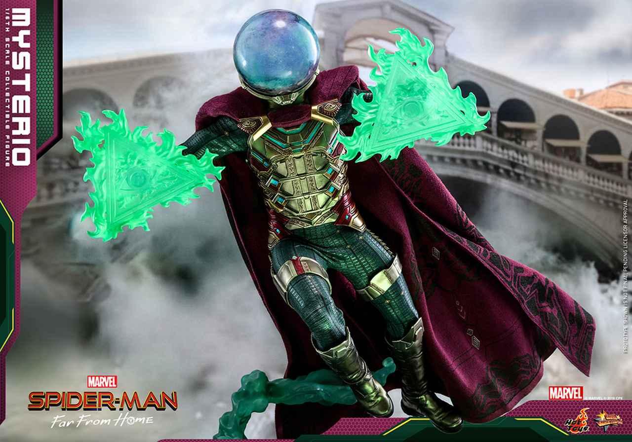 Images : 3番目の画像 - 「ホットトイズより「スパイダーマン:ファー・フロム・ホーム」ミステリオのハイエンドな1/6スケールフィギュアが!」のアルバム - SCREEN ONLINE(スクリーンオンライン)