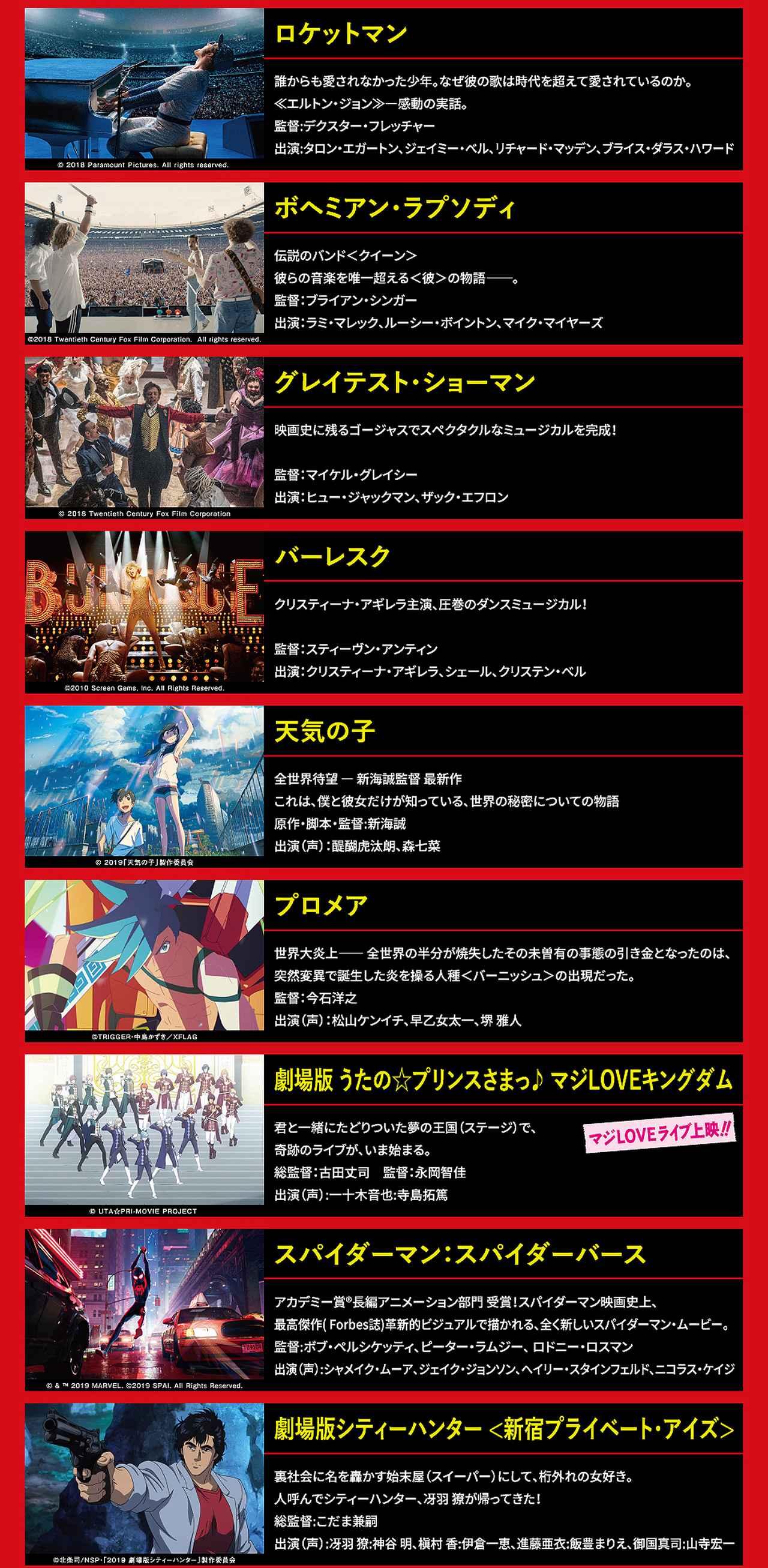 画像: 爆音映画祭 in 109シネマズ広島 Vol.3 | 109CINEMAS