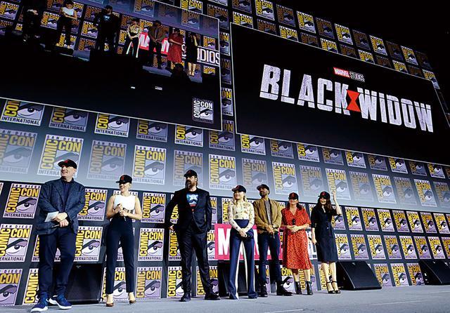 画像: MCUフェイズ4のキックオフ作品は『ブラック・ウィドウ』 Photo by Getty Images