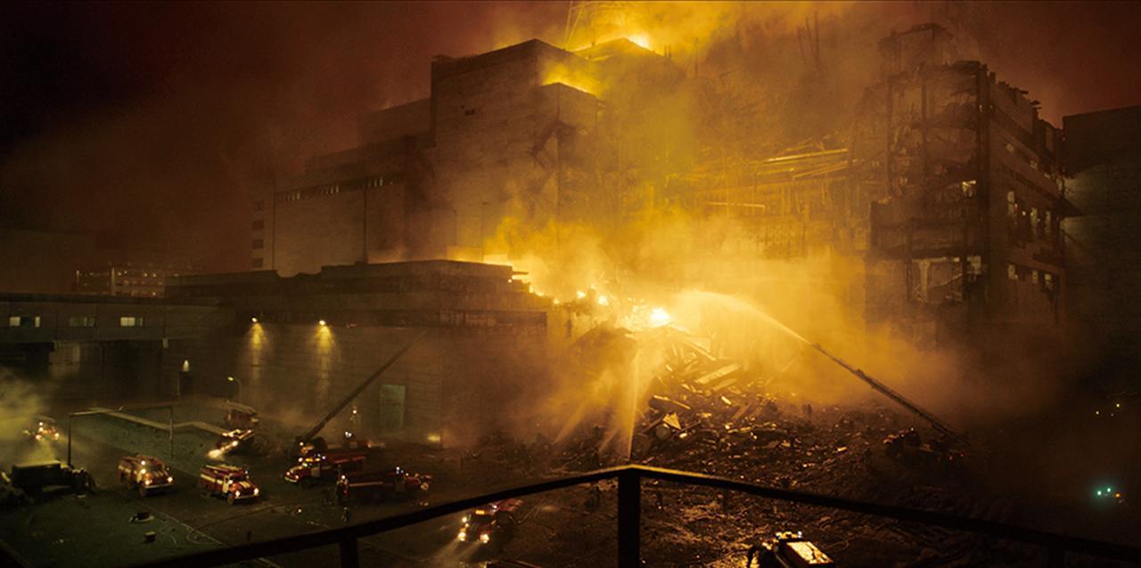 画像: 大惨事の一部始終をリアルに再現