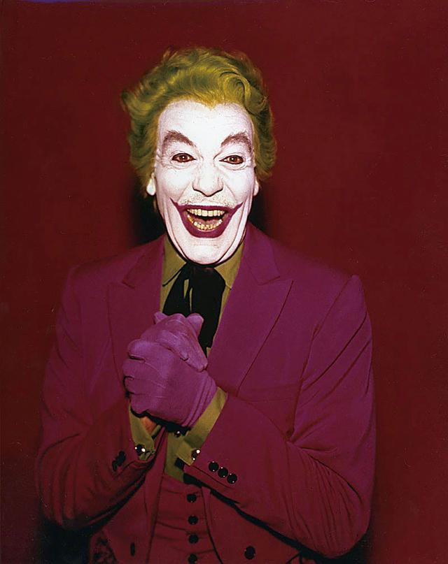 画像: TV シリーズでジョーカーを演じたシーザー・ロメロ