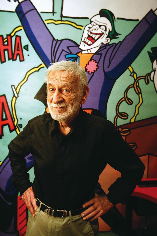 画像: 作者のコミック・ライターの一人、ジェリー・ロビンソン