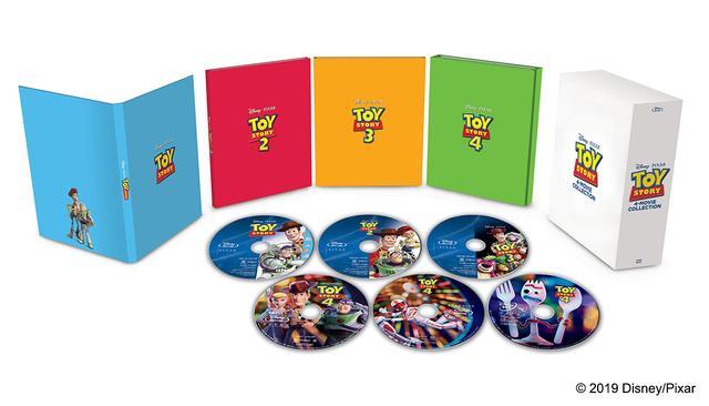 画像: 『トイ・ストーリー:4 ムービー・コレクション(数量限定)』13,000 円+税