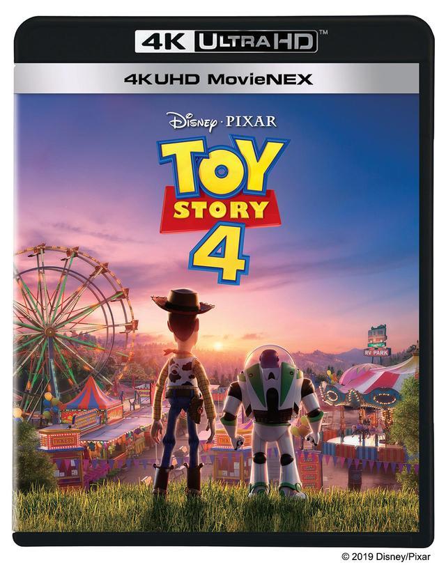 画像: 『トイ・ストーリー4 4K UHD MovieNEX』 5,800 円+税