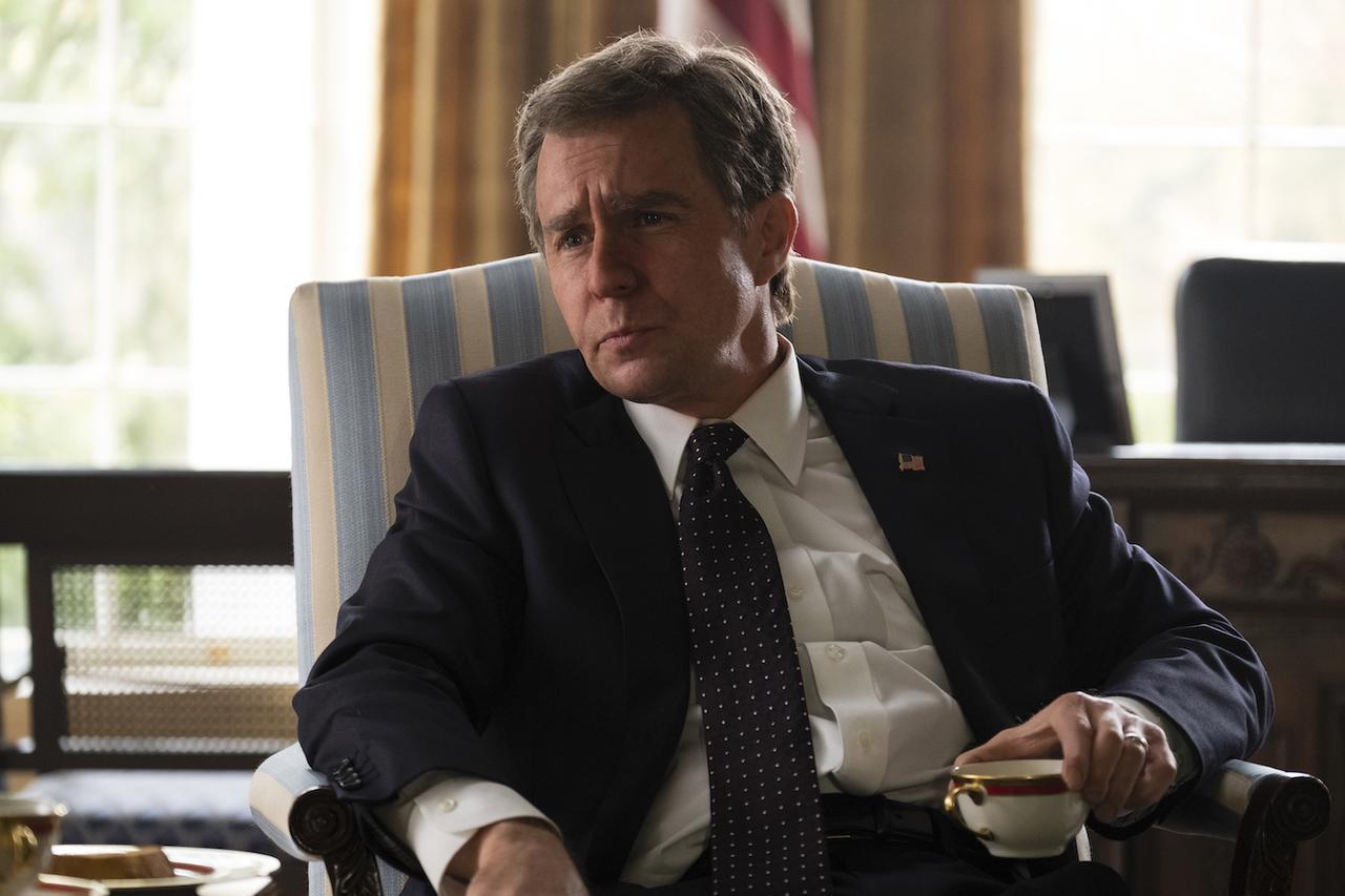 画像: ブッシュ大統領(サム・ロックウェル/声:家中宏)