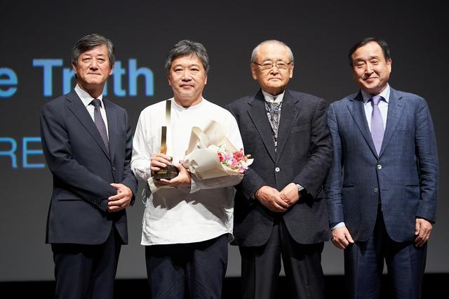 画像: 釜山映画祭で栄誉の受賞