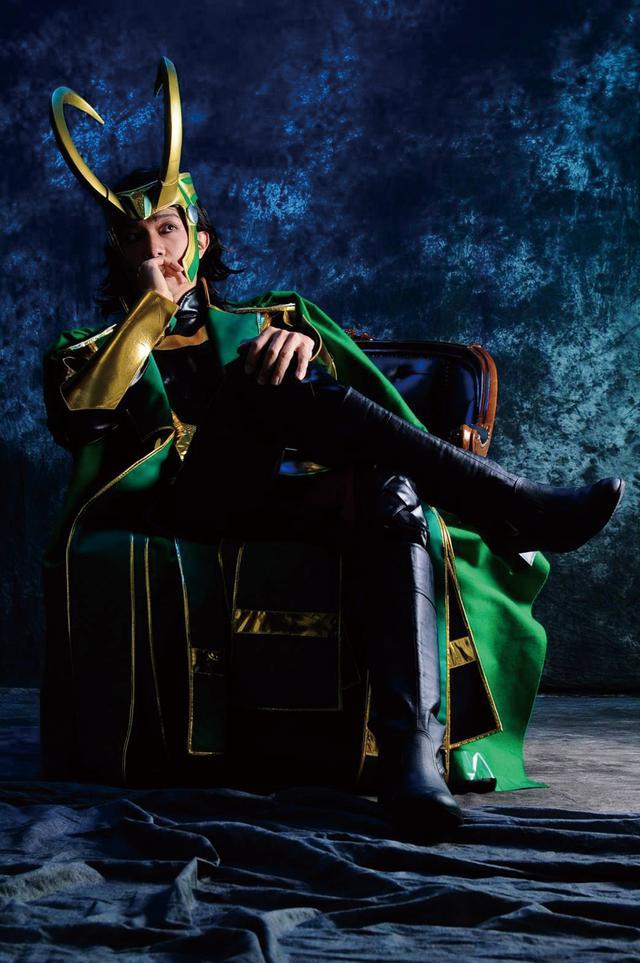 画像2: ハロウィン用:有名コスプレイヤーのアメコミキャラ系神ショット