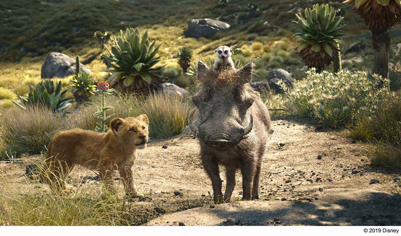 画像: ファヴロー監督お気に入りのティモンとプンバァのシーン