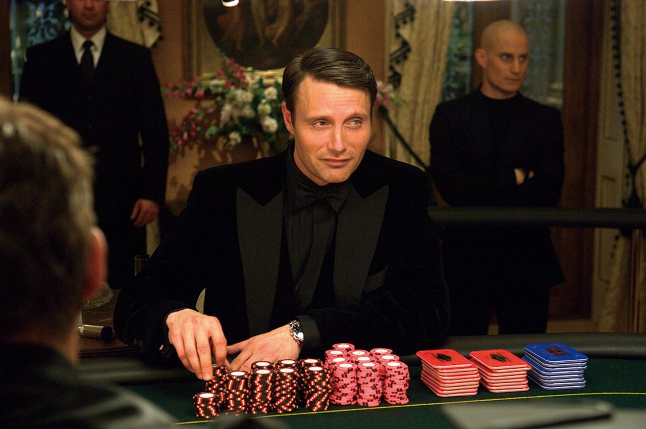画像: マッツを一躍有名にした「007 カジノ・ロワイヤル」の悪役ル・シッフル