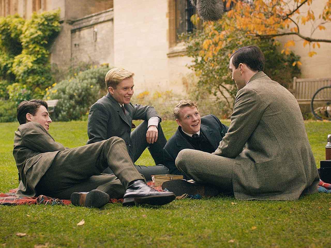 画像: ニコラス・ホールト、トム・グリン・カーニーらが英国式アフタヌーンティー講座!「トールキン 旅のはじまり」 - SCREEN ONLINE(スクリーンオンライン)